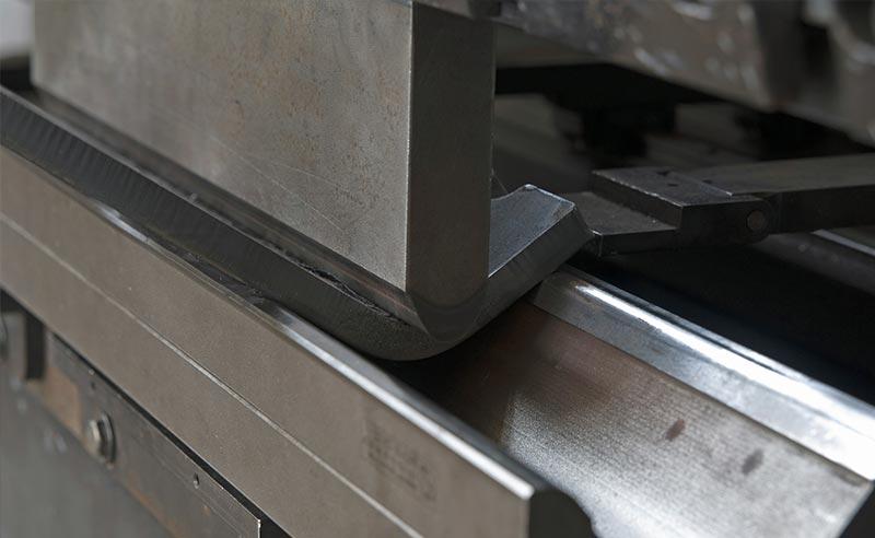 Metal Folding Close Up
